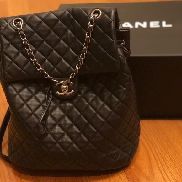 CHANEL Handbags - Channel Backpack 💙🖤